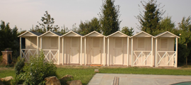 pool's cabins